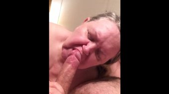 Cumming in her mouth - Miami Blowjob