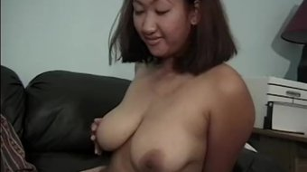 EDPOWERS - Busty Asian Leila Long dicked before facial