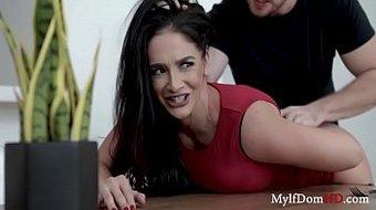 Sheena Ryder Gets Roughed Up- MILF Gets dominated