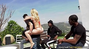 Lilly Lit Wants Gangbang With Her Cuckold Boyfriend's Black Friends