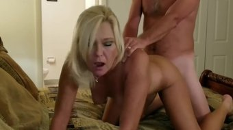 Milf Gets Doggystyle, Anal and Rides Cowgirl Hardcore