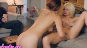 Twistys - Stepmom Karlie Montana seduces Elsa Jean