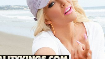 Reality Kings - Pornstar Nicolette Shea shows off her big tits and phat ass