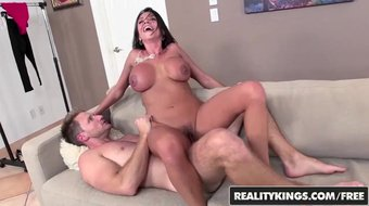 REALITY KINGS  - Hot milf Ariella Ferrera takes control of younger cock