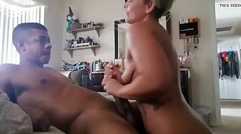 beautiful milf sucking the soul out of the dude next door