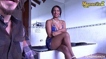 MAMACITAZ - Big Ass Colombian Babe Has Revenge Sex With Stranger