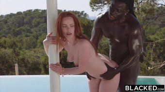 BLACKED She was on vacation and wanted to treat herself to some BBCv