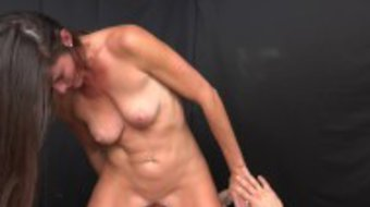MILF Trip - Brunette MILF with smoking body takes big facial - Part I
