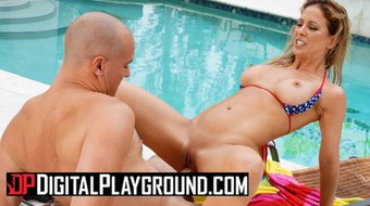 Digital Playground - the only thing Cherie Deville likes more than soaking