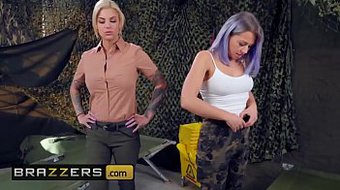 Hot And Mean - (Bonnie Rotten, Zoey Monroe) - Squirt Training - Brazzers
