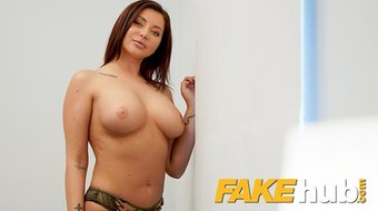 Fake Agent Anna Polina fucked in a fake casting interview