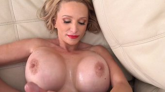 Huge boobs MILF Billi Bardot fucked good by a big hard cock