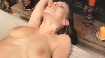 Tattooed Brunette Fucked Hard From Behind Then Pounded Missionary Style